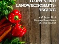 Gartenbau- und Landwirtschaftstagung - Ideen und Motivation