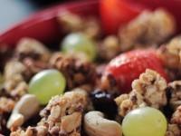 Frühstücksrezept Granola